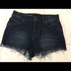 Pants - Dark Denim Cut-Offs